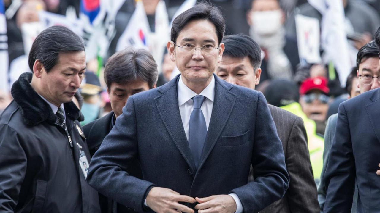 leader Samsung Lee Jae-yong arrestato