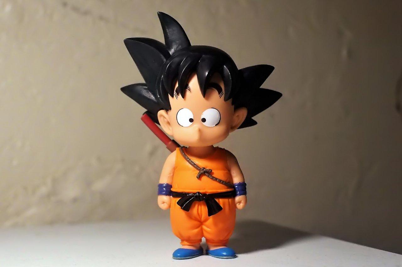 Goku da bimbo Google Assistant