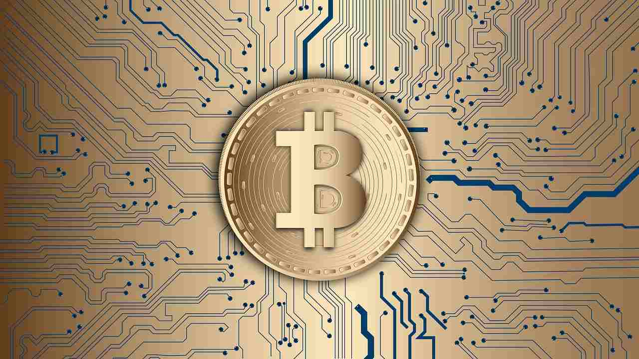 Bitcoin giallo