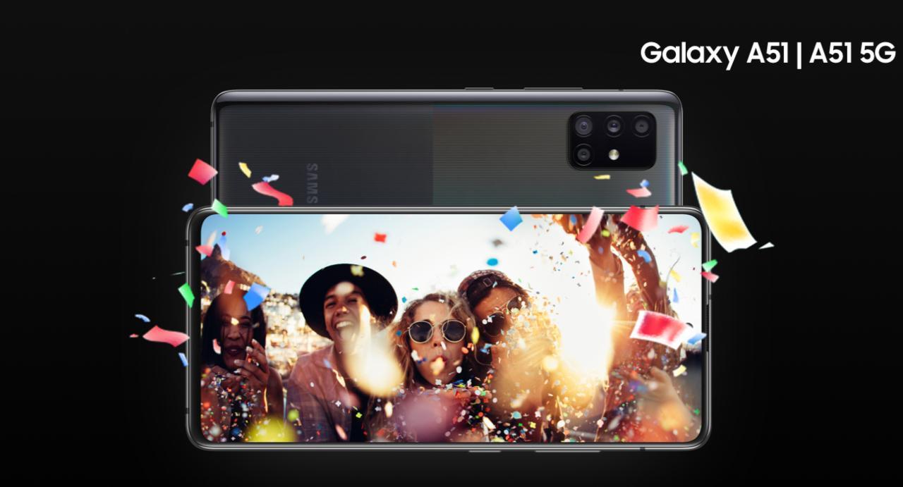 smartphone più venduti nel 2020 Galaxy A51