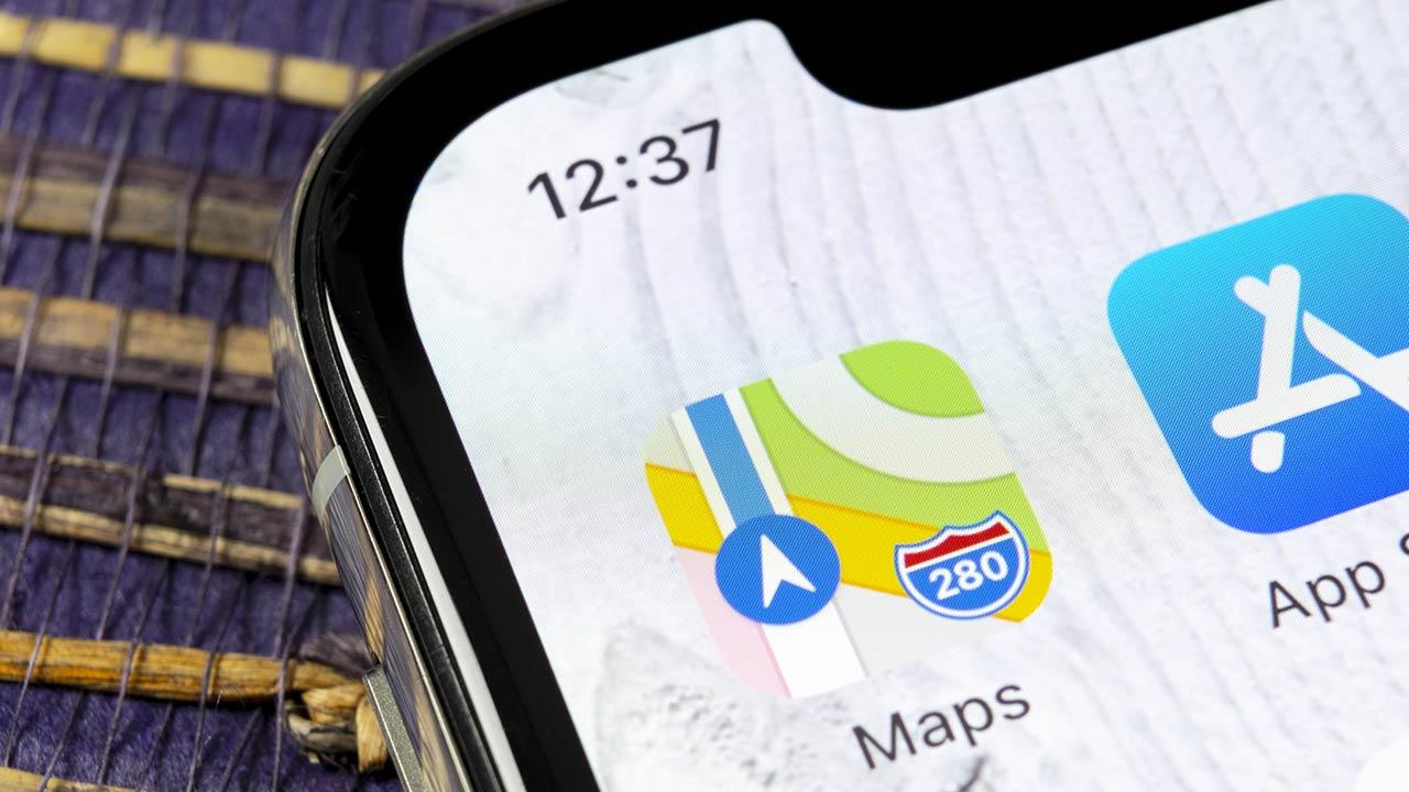 app Mappe beta iOS 14.5