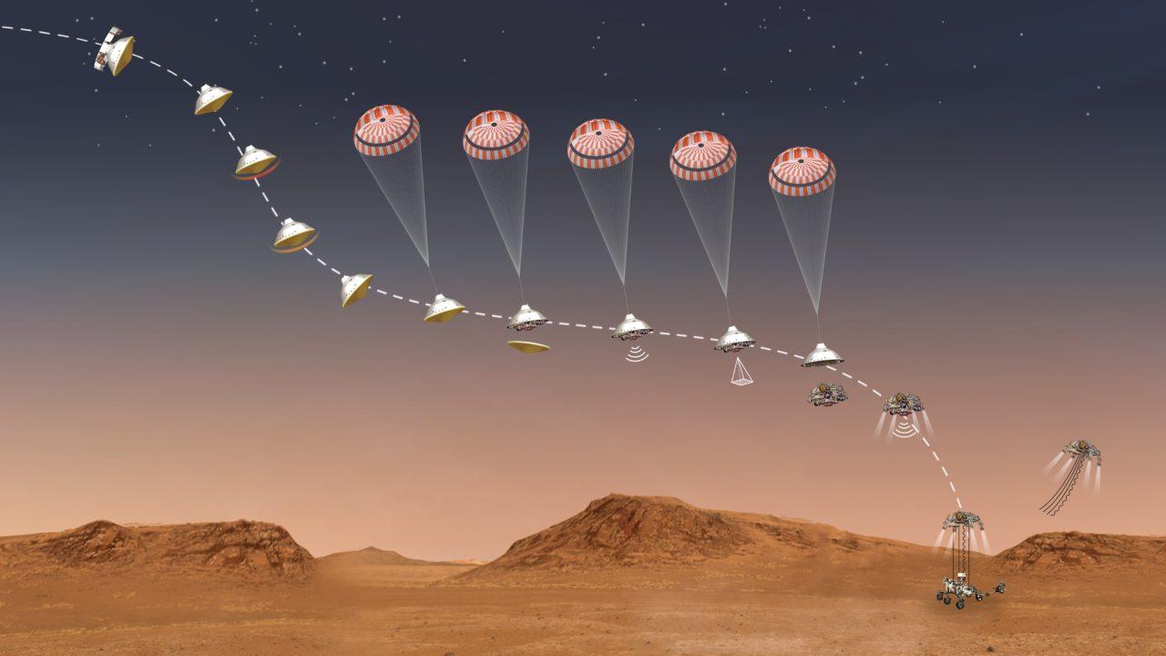 Perseverance Marte un render (image from mars.nasa.gov)
