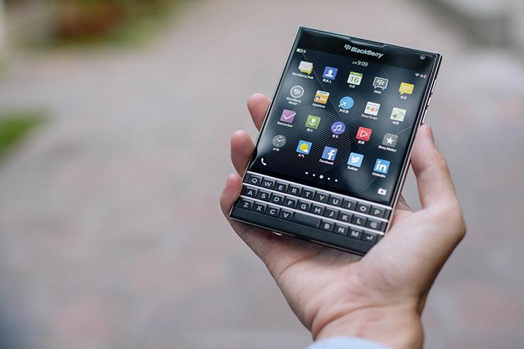 smartphone BlackBerry 2021