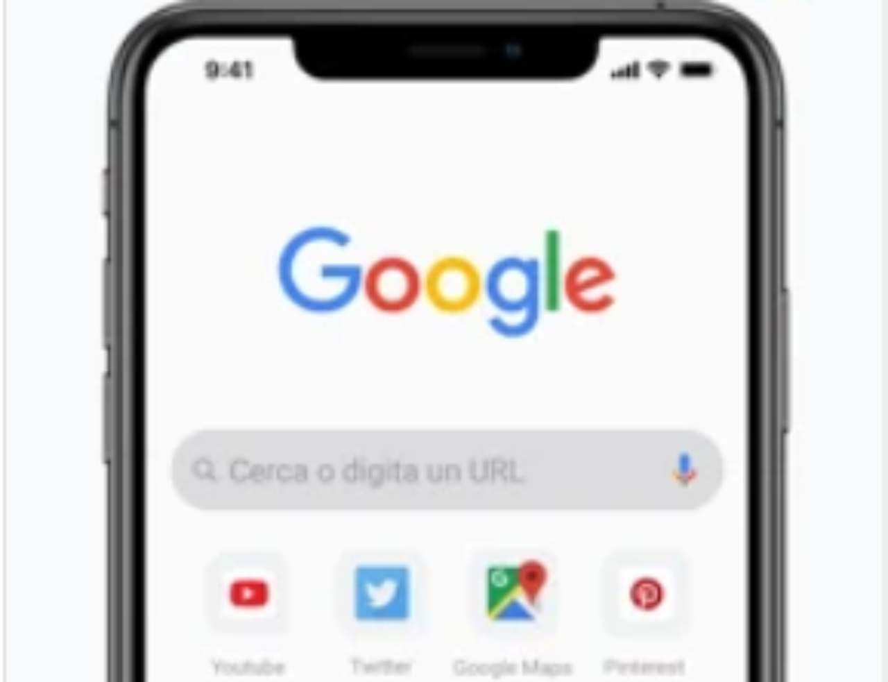 Chrome iOS, nuova funzione