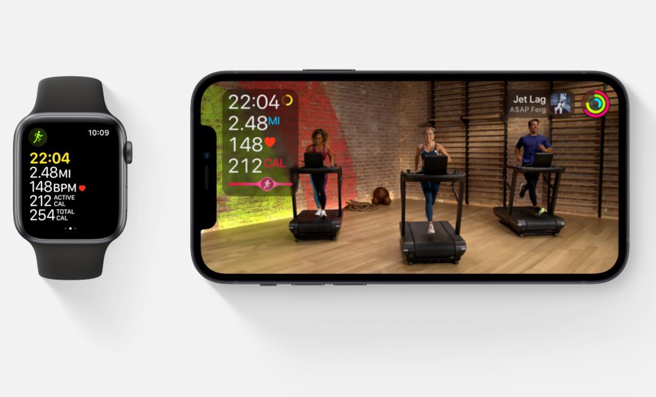 iOS 14.5 Beta Apple Fitness+