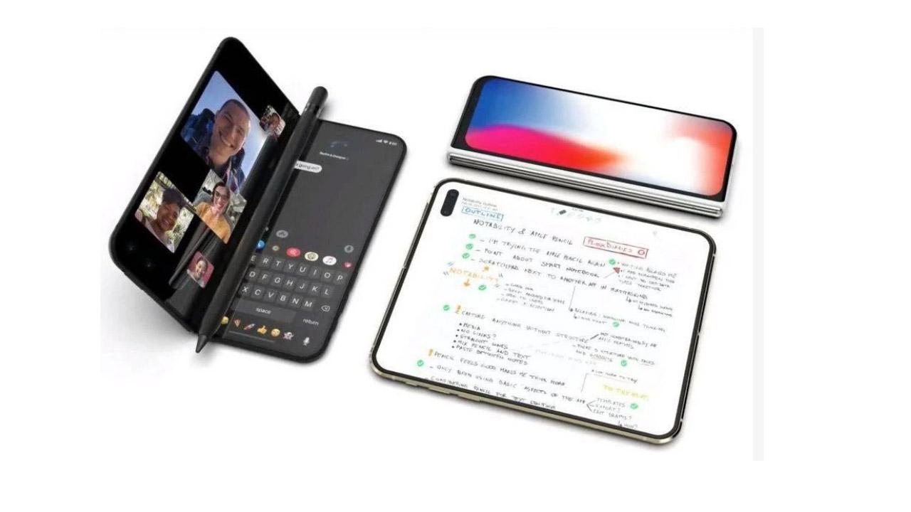 iPhone pieghevole mini-tablet