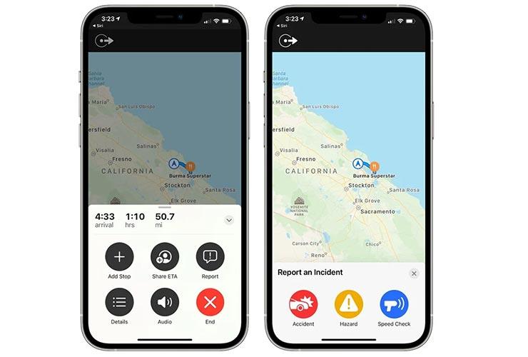 Mappe iOS 14.5