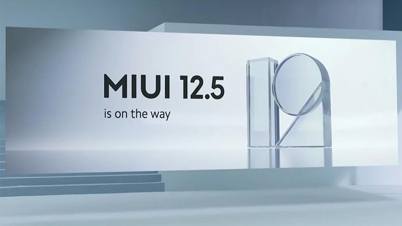 MIUI 12.5 novità
