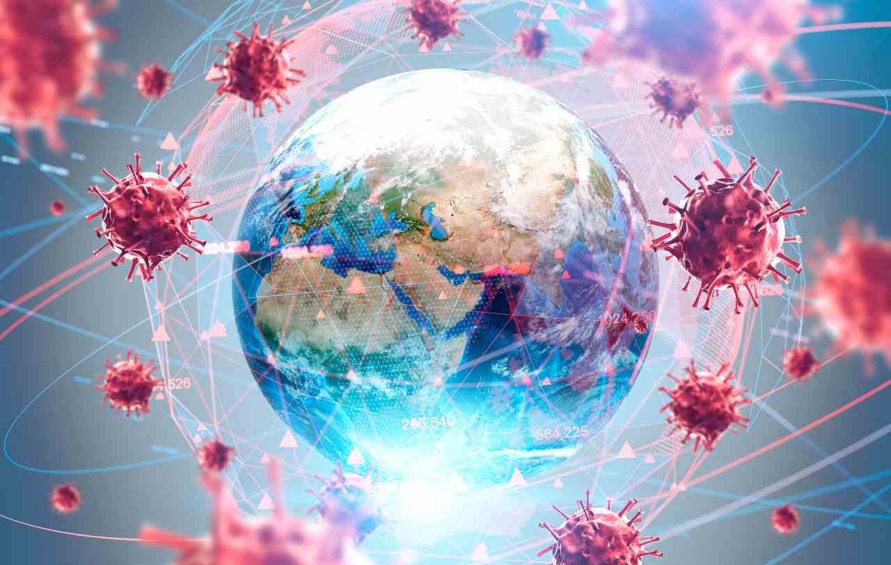 Coronavirus, una pandemia mondiale (Adobe Stock)
