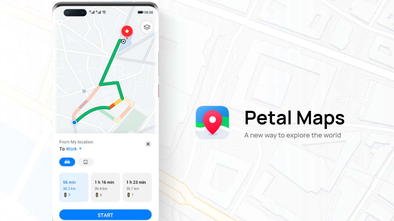 Petal Maps novità
