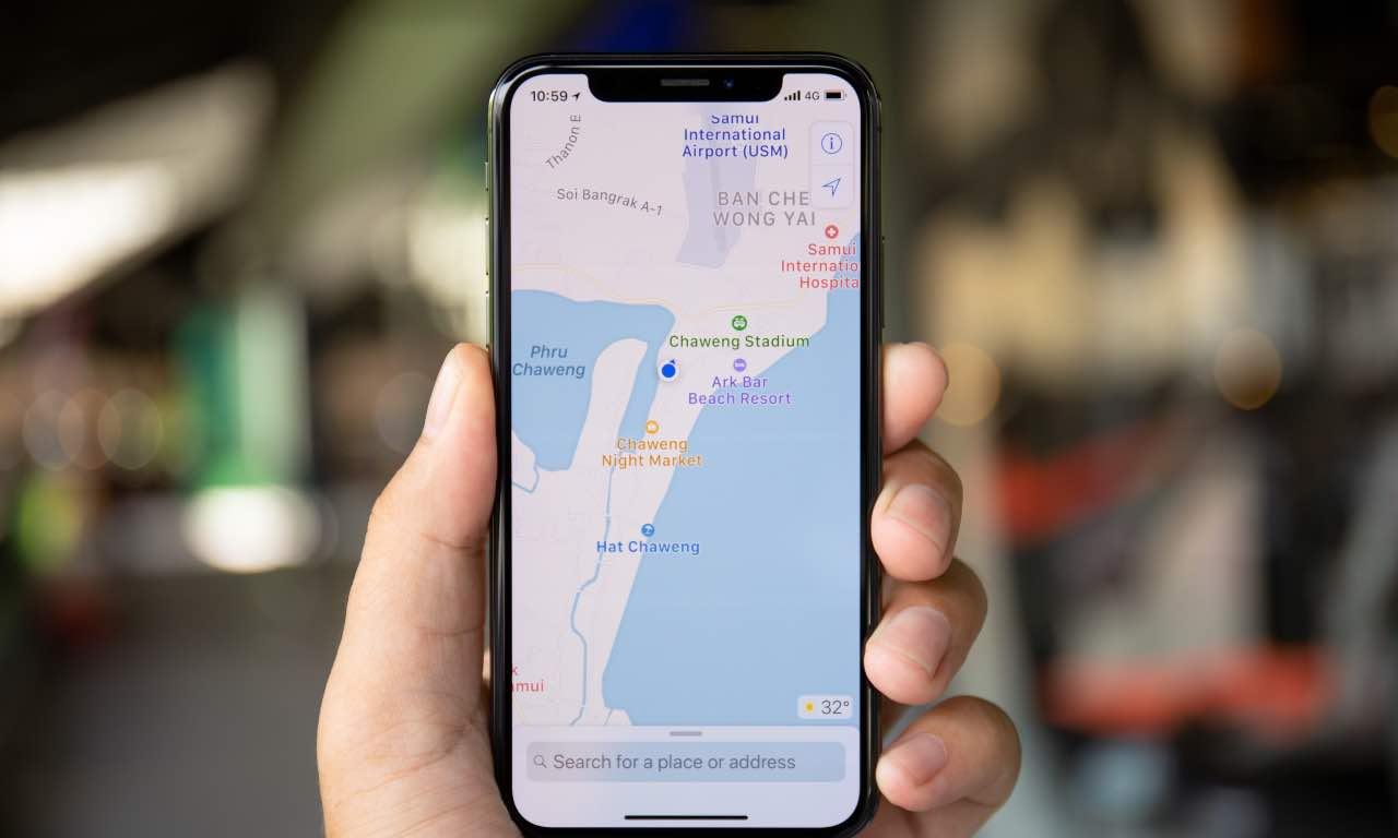apple maps autovelox