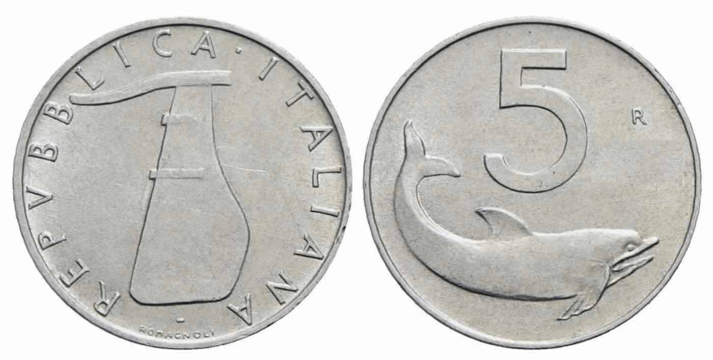 moneta 5 lire