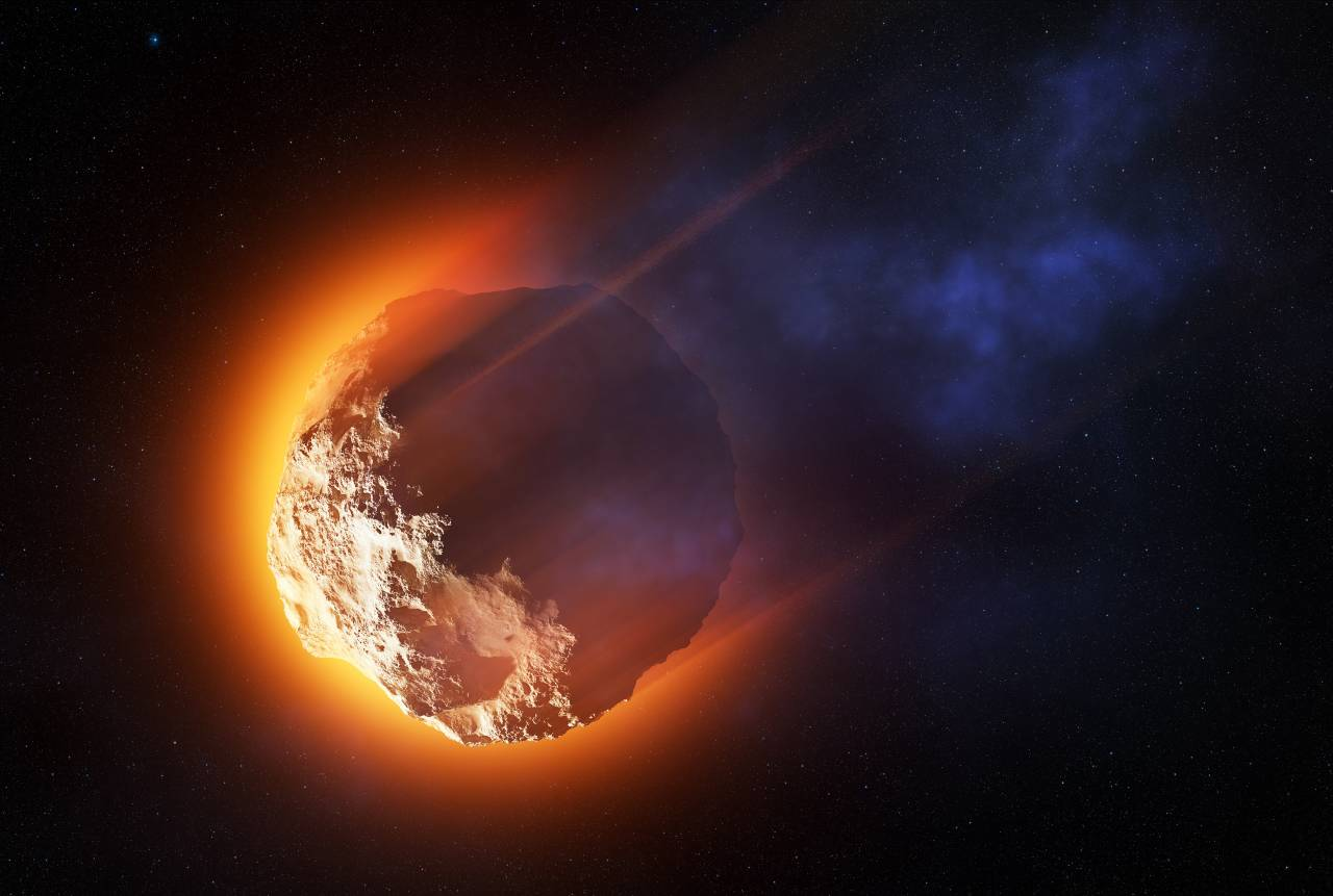 Asteroide Sasso Spaziale (Adobe Stock)
