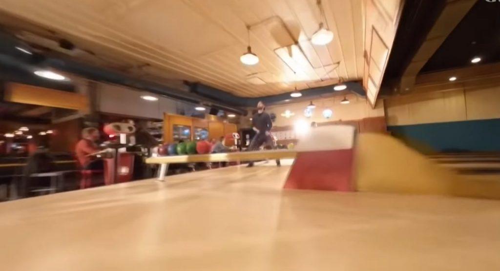 Drone bowling