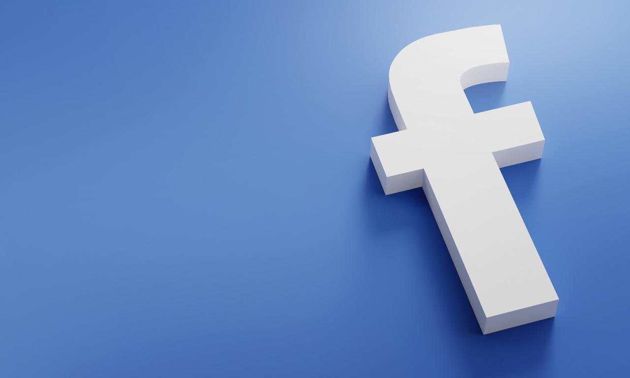 Facebook, il logo (Adobe Stock)