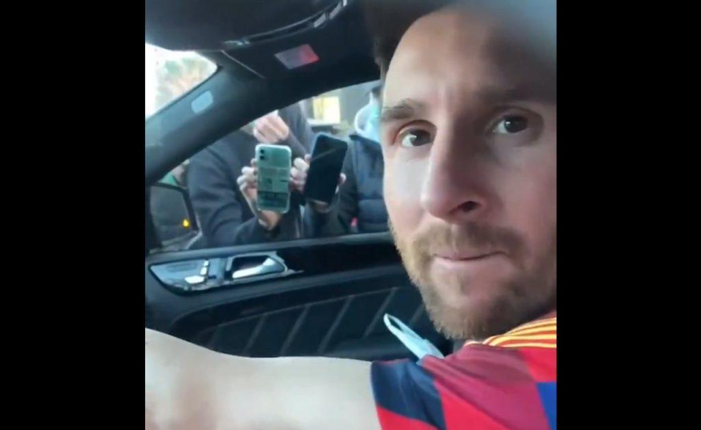 Messi auto su TikTokk