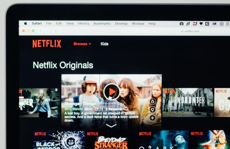 Netflix account sharing schermata originals