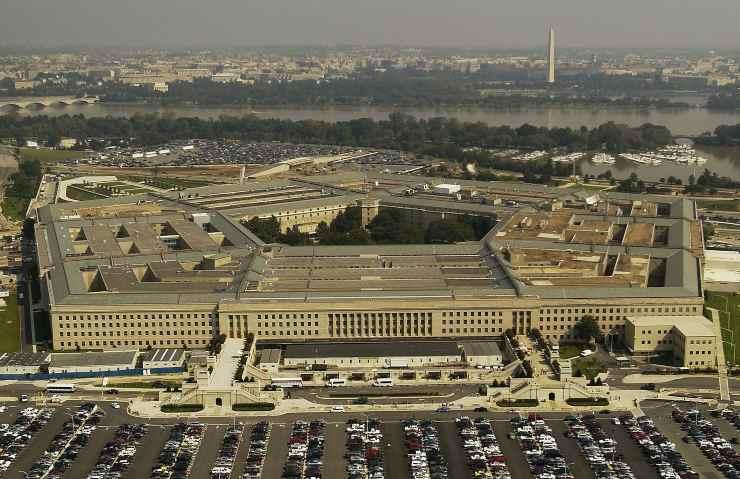 Pentagono Jetpack L'edificio del Pentagono