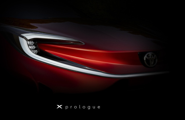 Toyota X Prologue preview