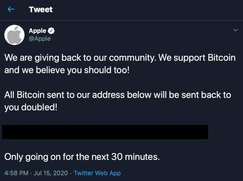 Tweet Apple
