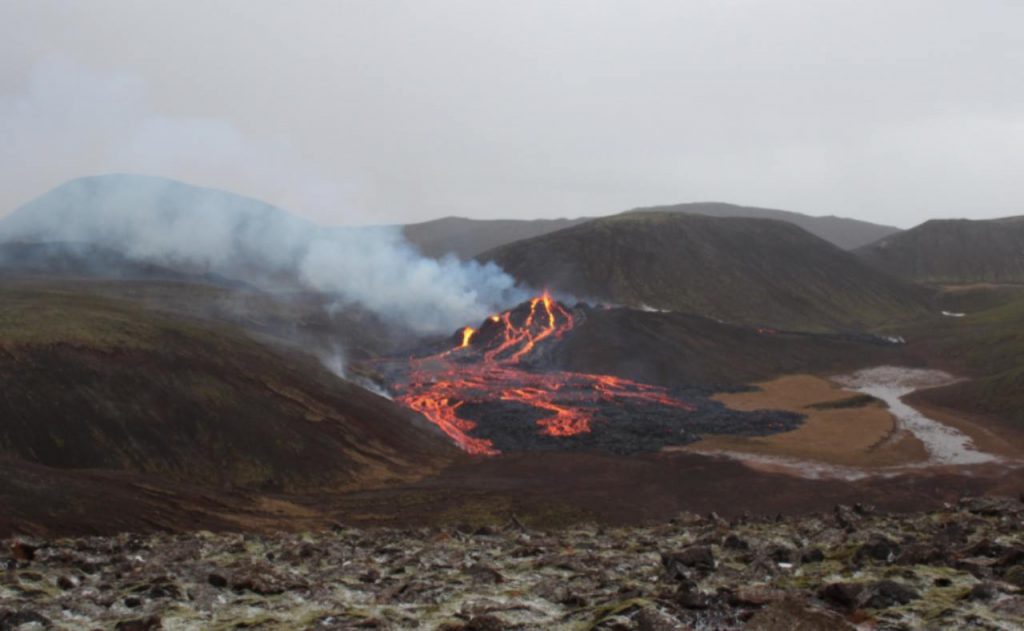 Vulcano Islanda
