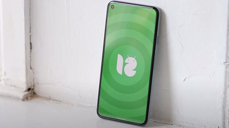 Android 12 modalità ad una mano