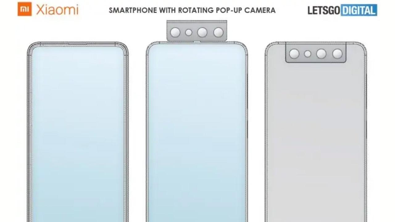 smartphone Xiaomi fotocamera rotante