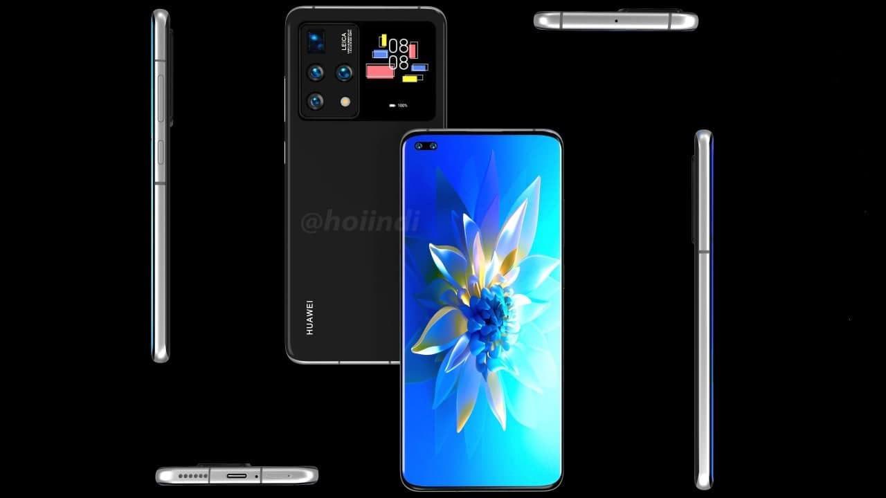 smartphone Huawei display secondario