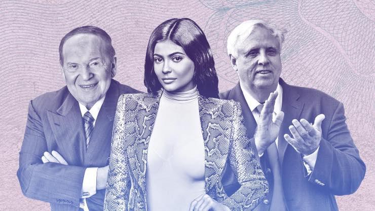 under 30 più ricchi