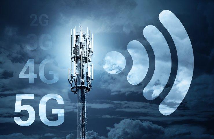 connettività 5G Italia