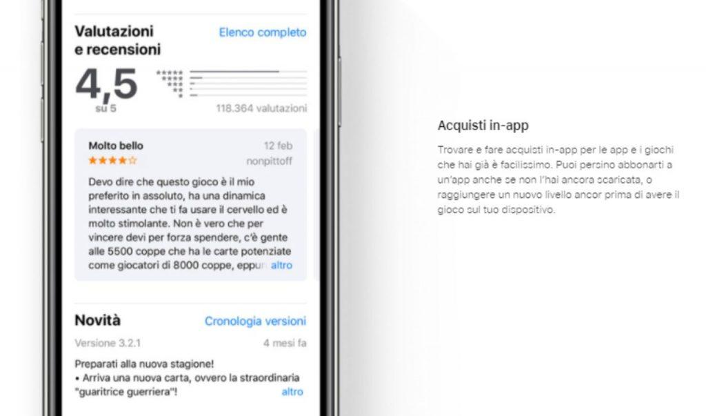 App Store recensioni