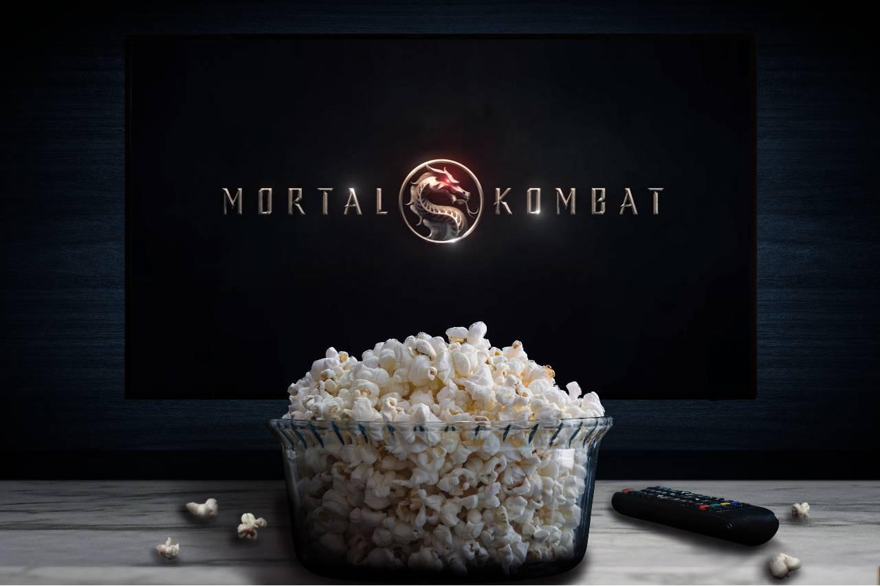 Mortal Kombat on screen (Adobe Stock)