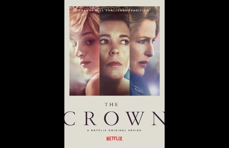 Netflix The Crown Netflix The Crown Il cartellone della quarta stagione (image from imdb.com)