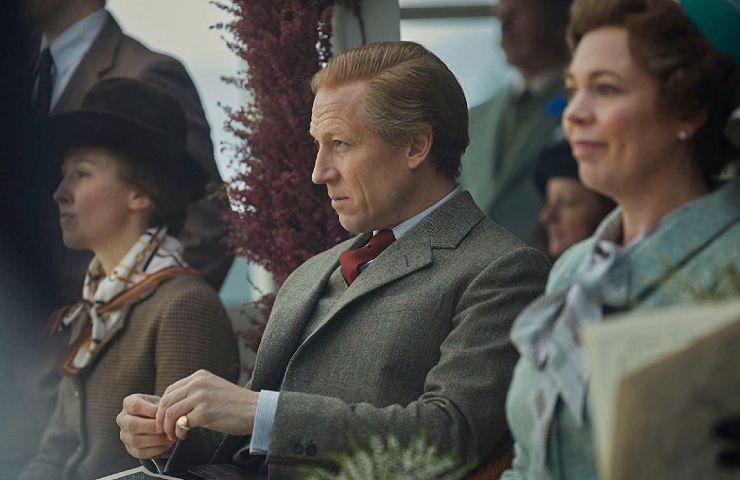 Netflix The Crown Lo strepitoso Tobias Menzies nei panni di FIlippo di Edimburgo (image from imdb.com)