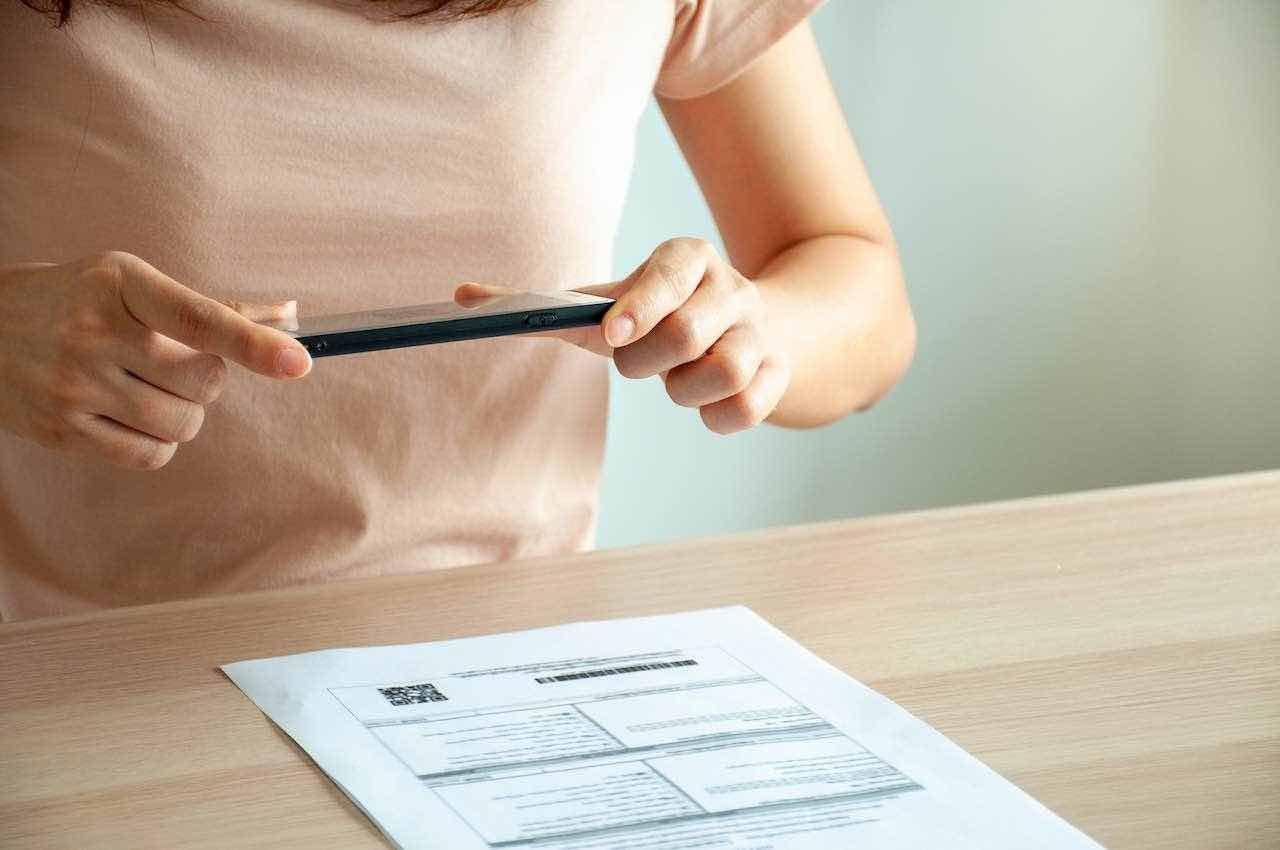 scannerizzare documento con iphone