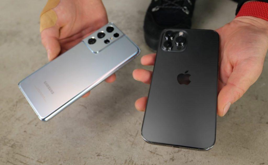Samsung contro iPhone