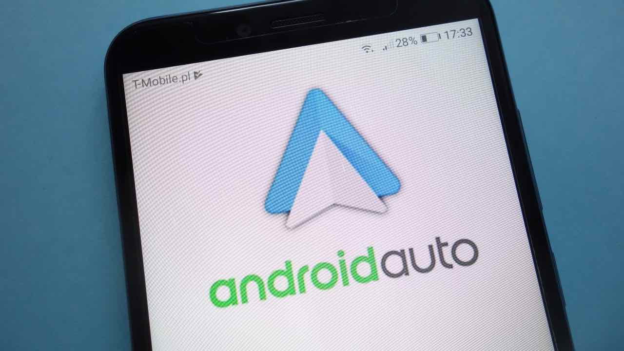 android auto gps