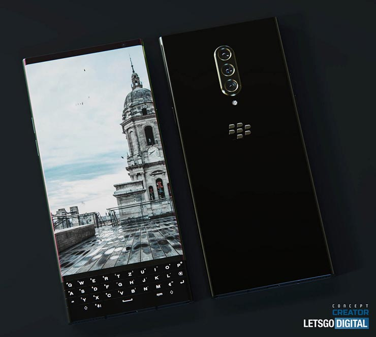 nuovo smartphone Blackberry