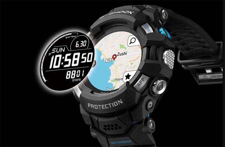 smartwatch Wear OS Casio