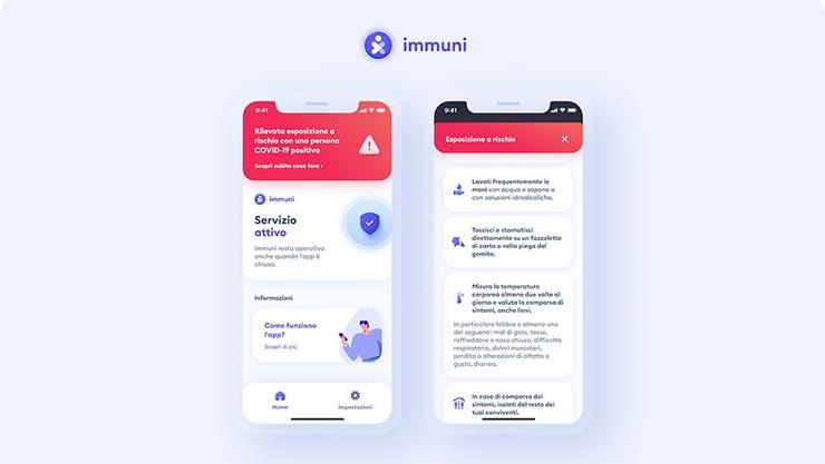 app Immuni aggiornamento