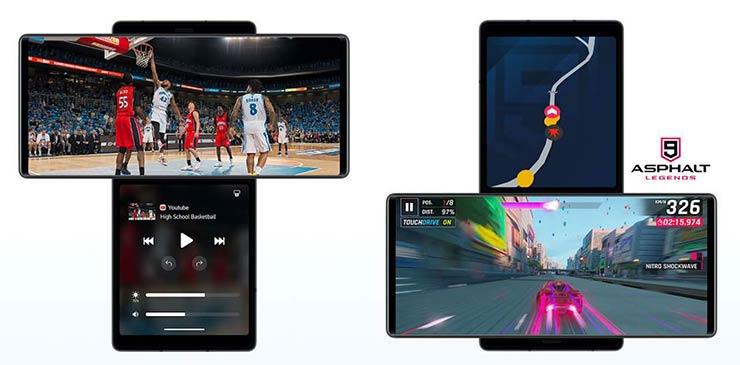 aggiornamenti smartphone LG Wing
