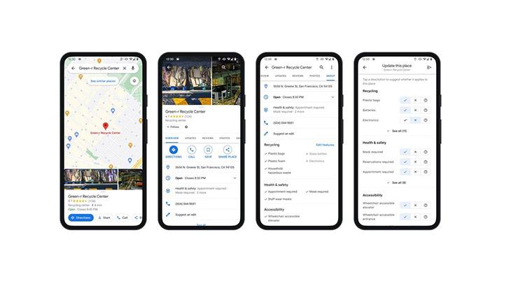 Google Maps rifiuti