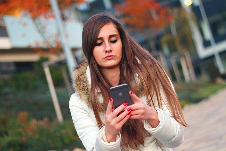 iPhone giovani