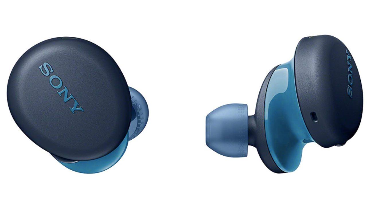 auricolari wireless sony