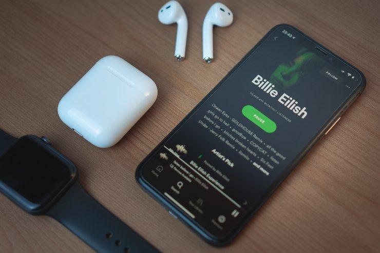 Spotify offline per Apple Watch