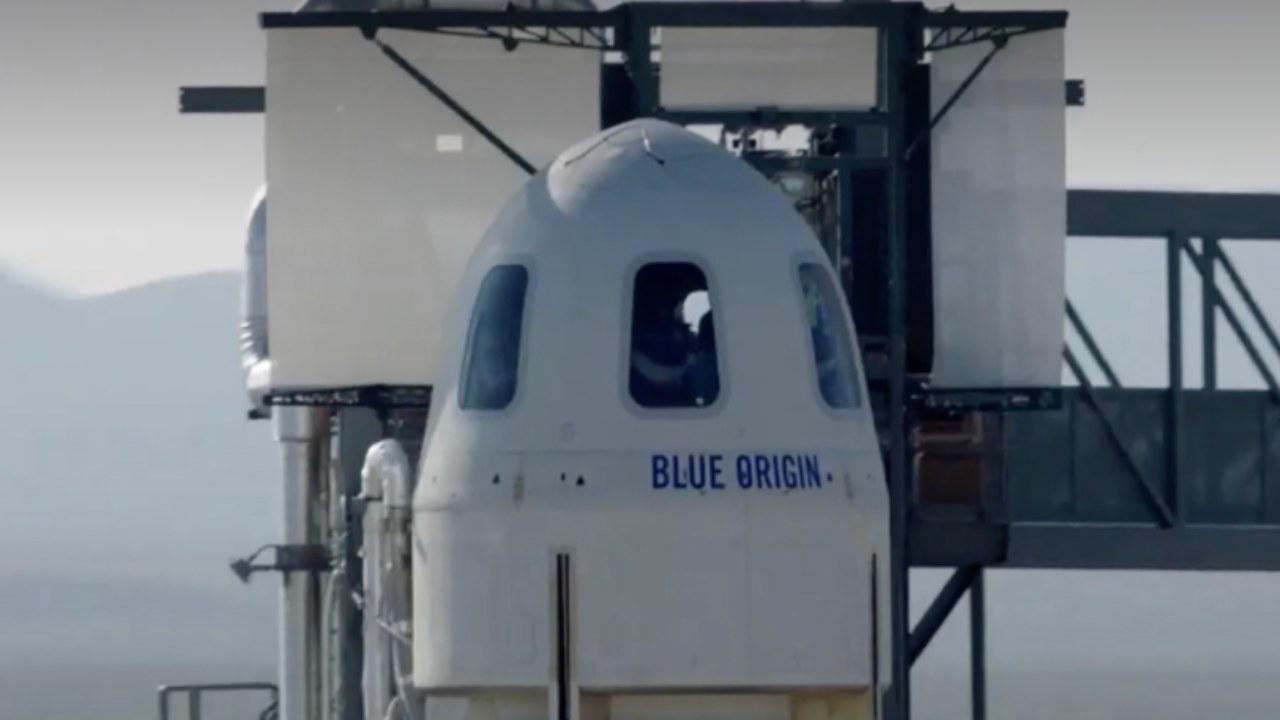 Blue Origin nave