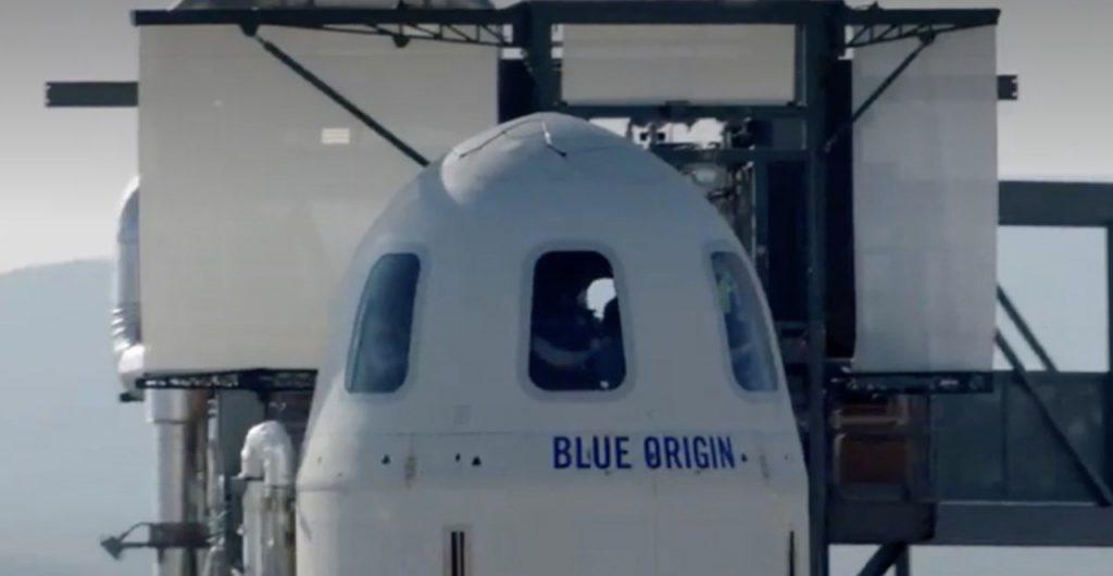 Blue Origin navicella