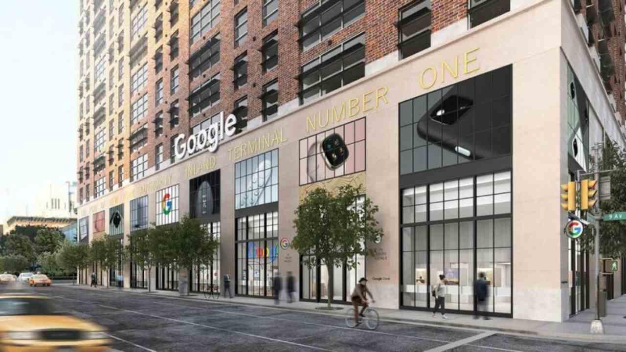 Google store a New York