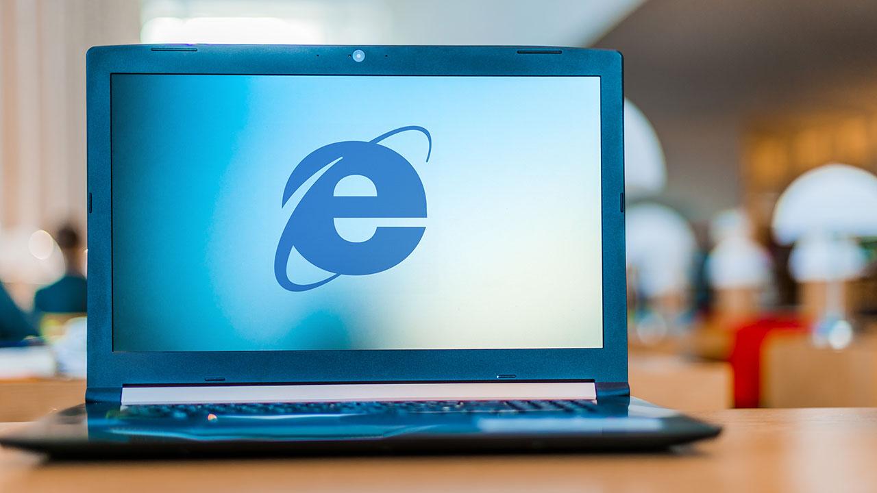 Internet Explorer data ritiro