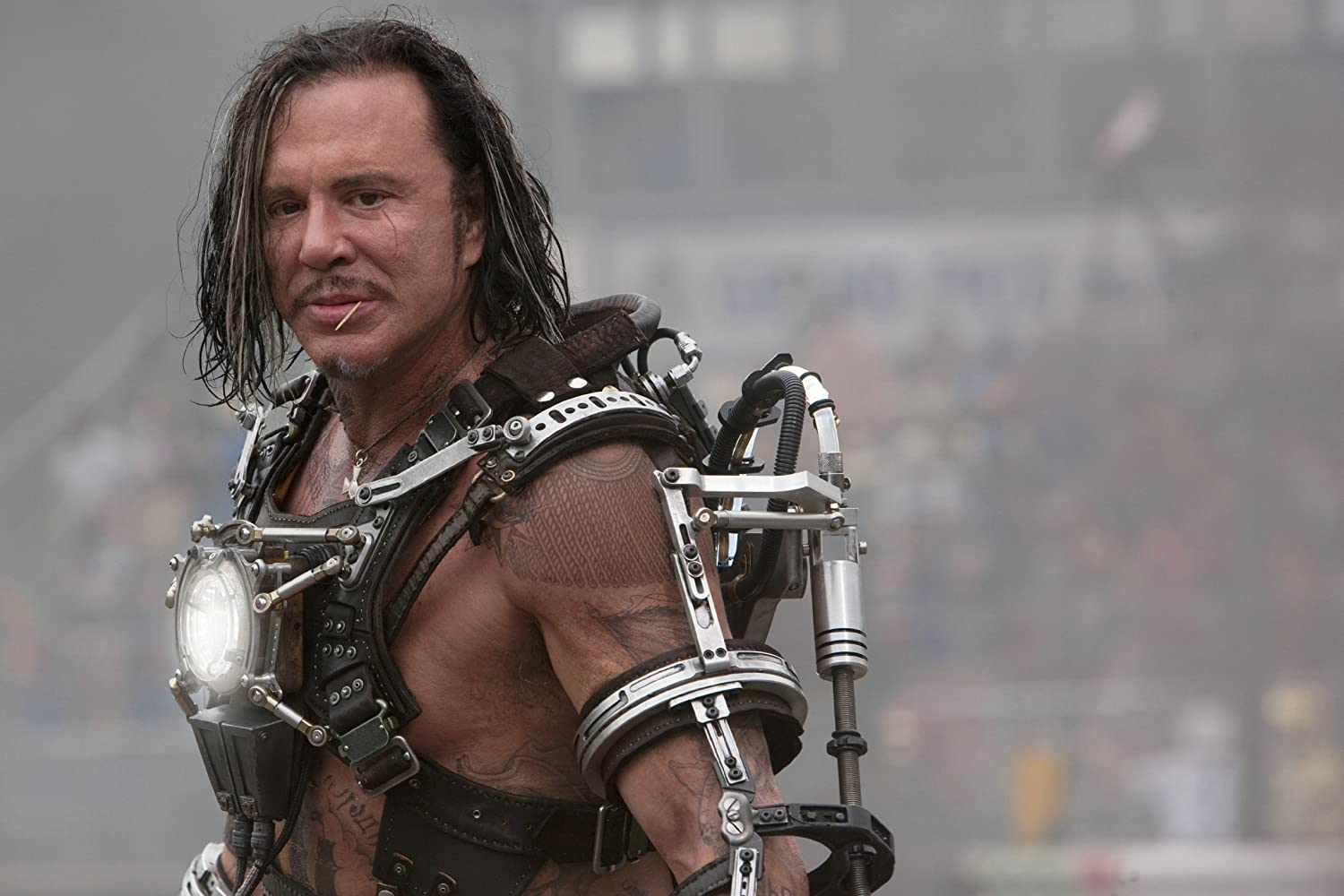 Mickey Rourke in Iron Man 2 (comicuniverse.it)
